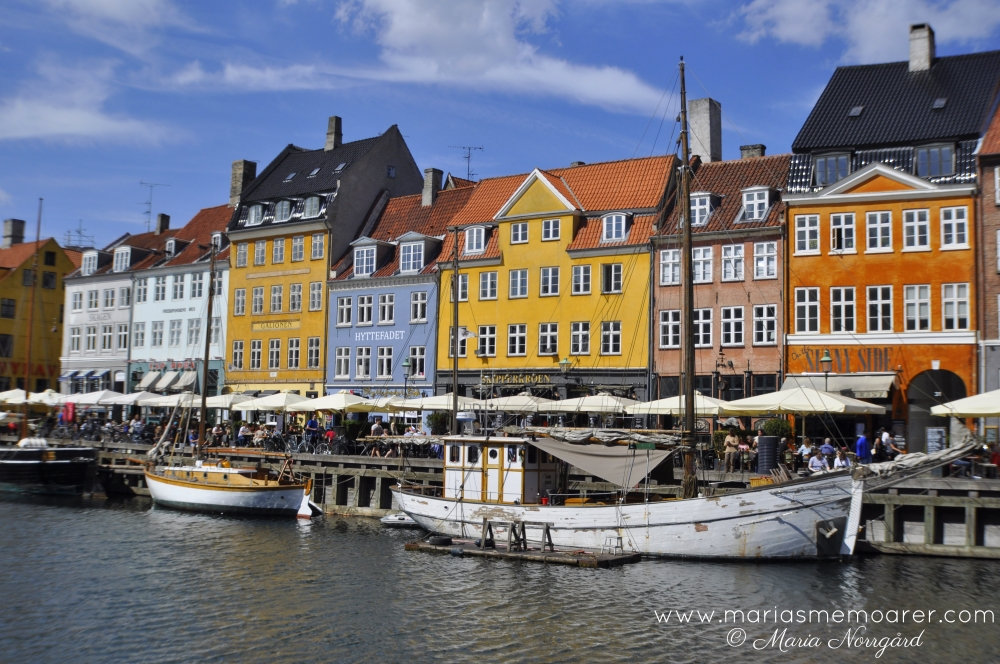 colourful houses in Nyhavn, Copenhagen