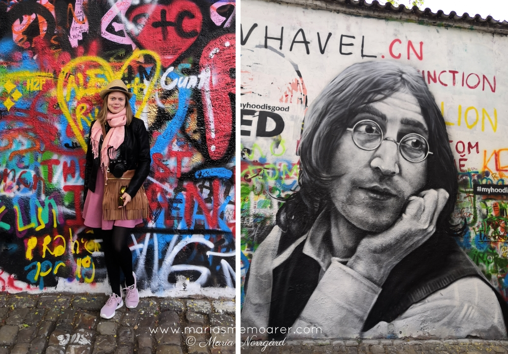 must see in Prague: John Lennon Wall