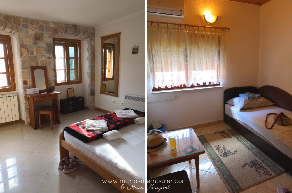 travel Balkans - privat room (hostel) in Kotor (flashpacking) and cosy guesthouse in Mostar