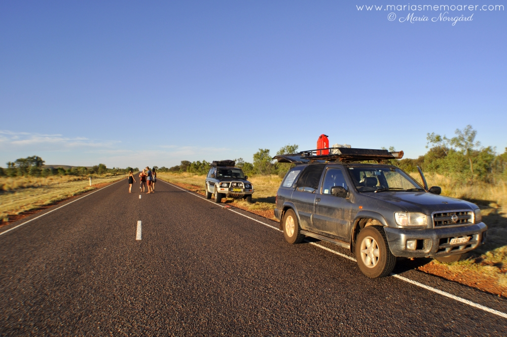 Roadtrip in the outback of Northern Territory, Australia