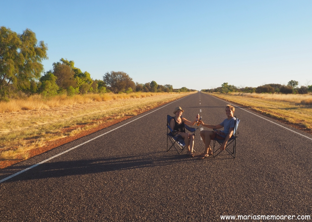 Crazy roadshots in outback of Straya, during roadtrip with travel mate