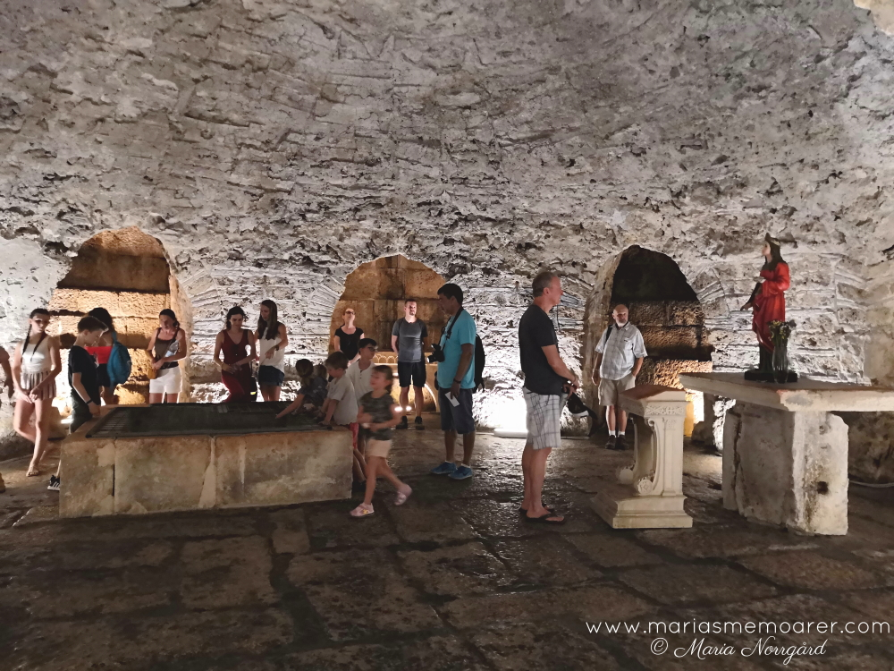 St Lucy crypt - things to see in Split, Croatia