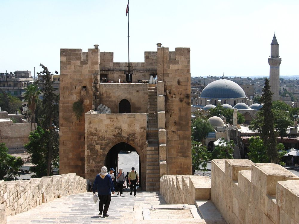 oldest cities in the world - Aleppo before the war