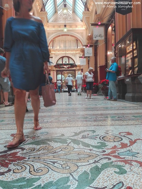 The Block Arcade - mosaic floor
