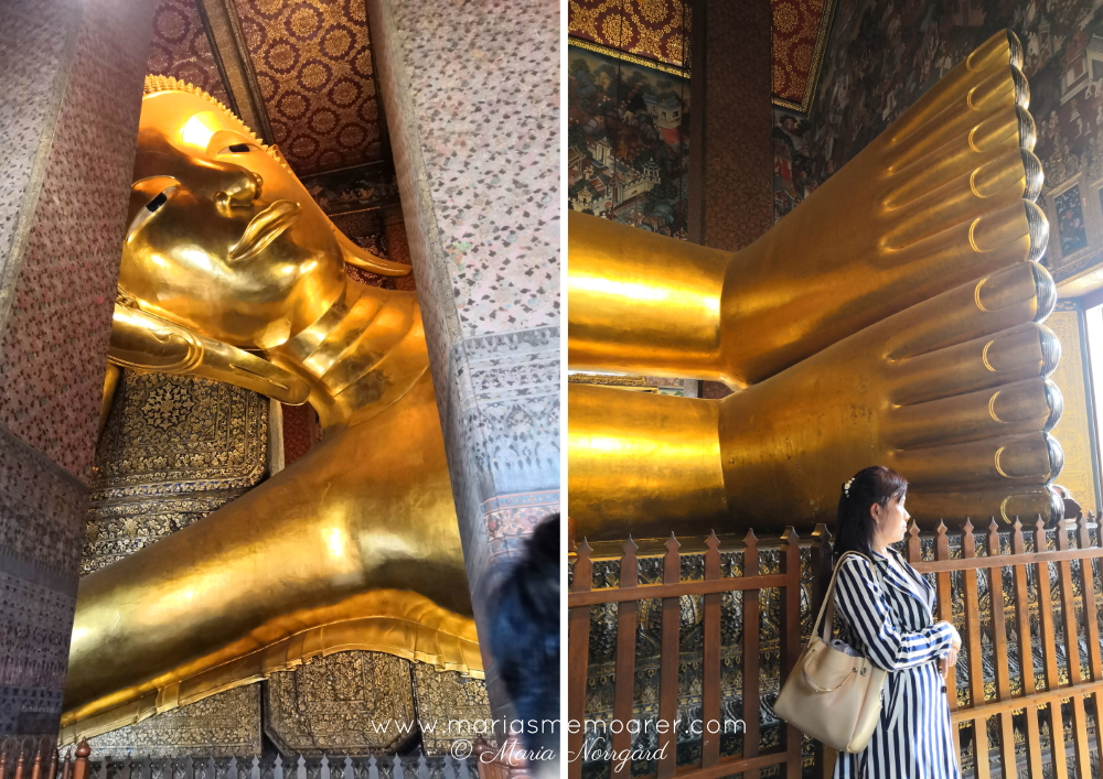 must see in Bangkok Thailand - The Reclining Buddha