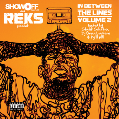 Reks - In Between The Lines Vol. 2 Cover