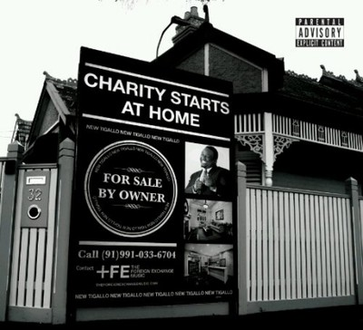 Phonte charity starts at home cover