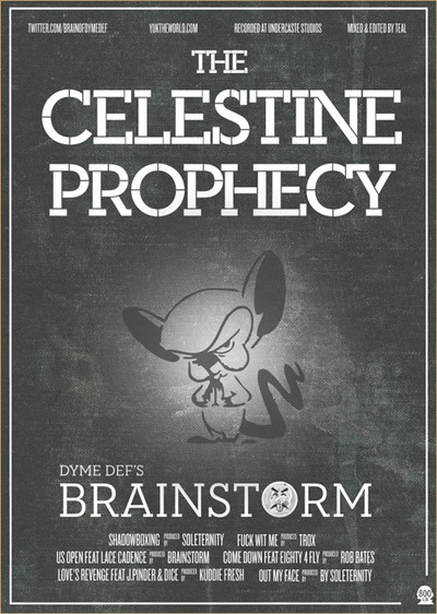 Brainstorm - The Celestine Prophecy EP Cover