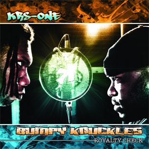 KRS One & Bumby Knuckles - Royalty Check Cover