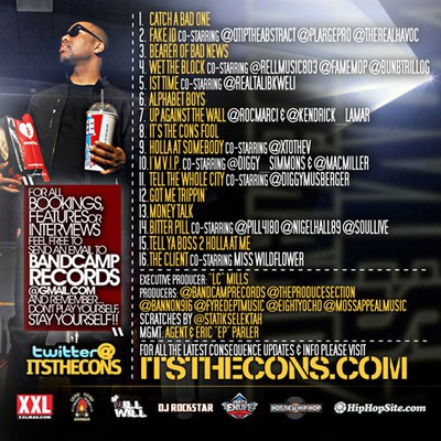 Consequence Mixtape Back