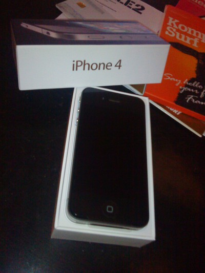 iphone 4 unbox