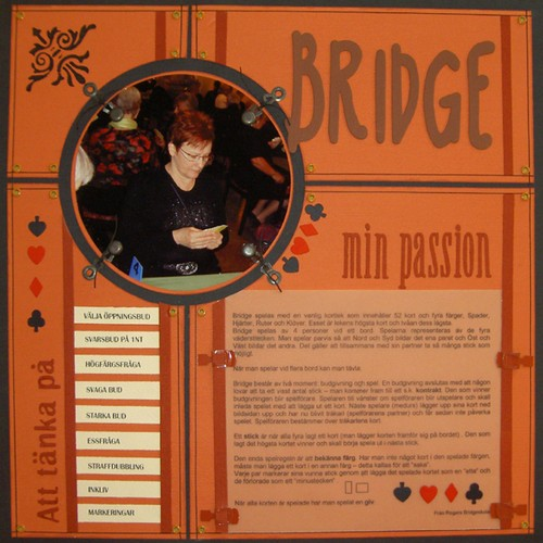 En lo om min passion - Bridge