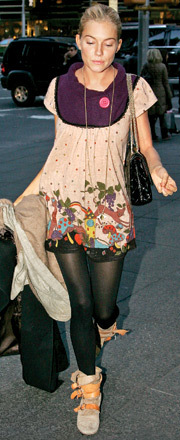 FUN FASHION - Sienna Miller