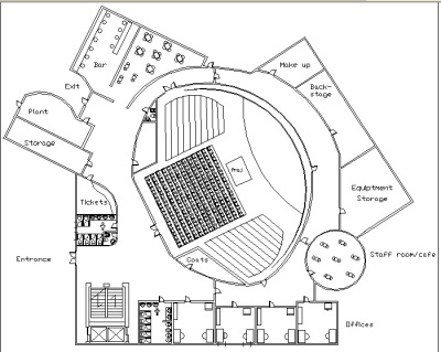 Plan for my auditorium