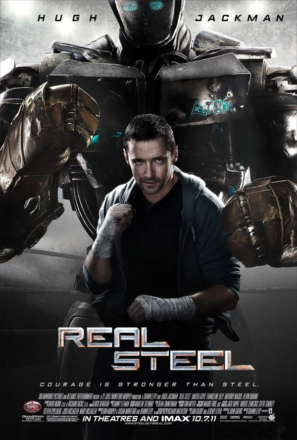 Film: Real Steel - Robot film med värme