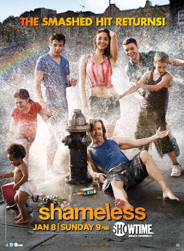 TV: Shameless - Season 2 - Skamlös drama komedi