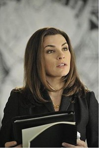 Julianna Margulies som försvarsadvokat i The Good Wife