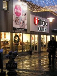 Iittala Outlet, Freeport Kungsbacka