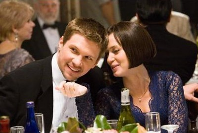 Marc Blucas & Emily Blunt i The Jane Austen Bookclub