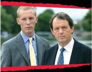 Laurence Fox & Kevin Whately i Kommissarie Lewis