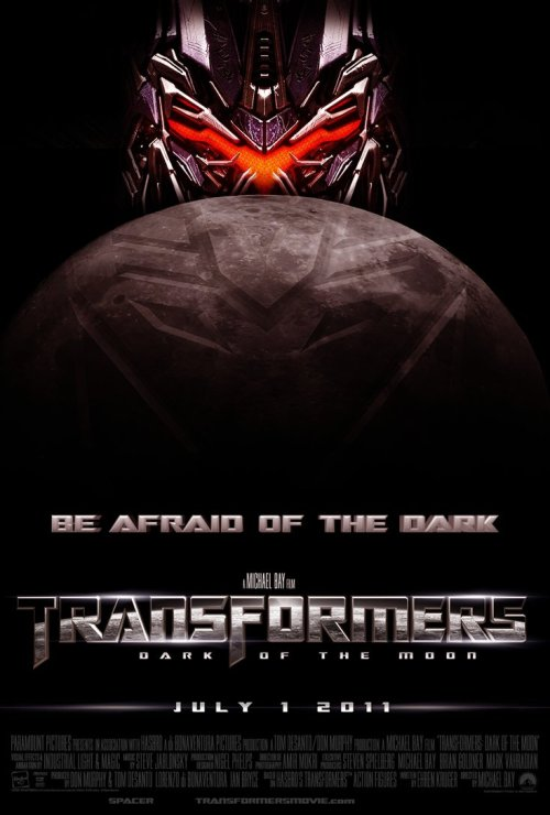 Transformers 3 - Dark of the moon poster