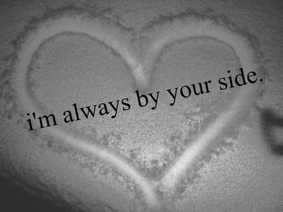 iäm always by your side,