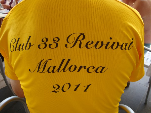 Club 33 Revival på Mallorca 2011.