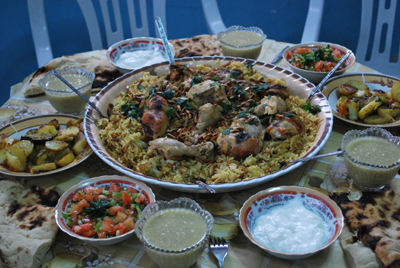 Traditionell palestinsk rätt