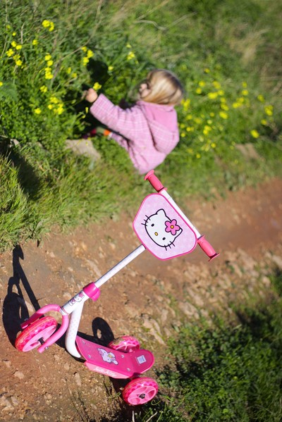 Hello Kitty scooter in Mgarr Malta