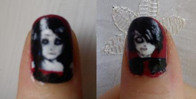 Gerard Way Nails
