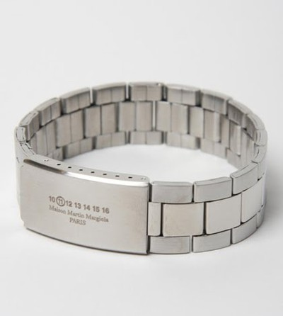 maison martin margiela 11 steel watch