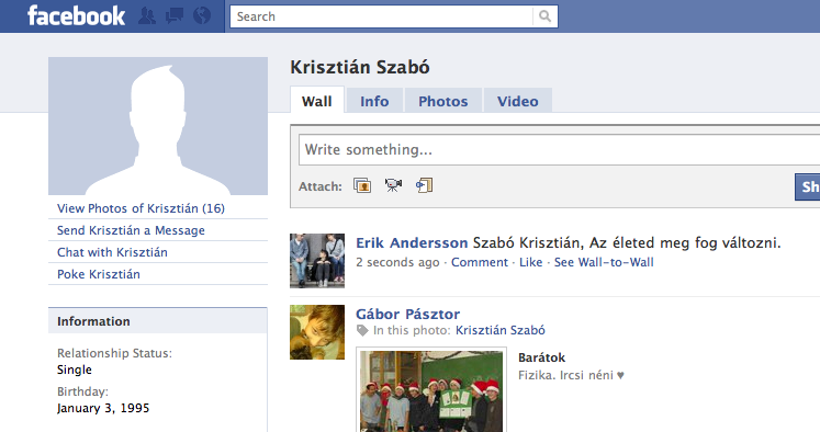 Krisztian Szabo, your life is about to change.