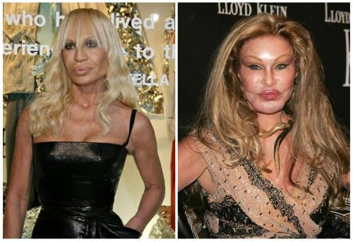 Donatella Versace & Jocelyn Wildenstein