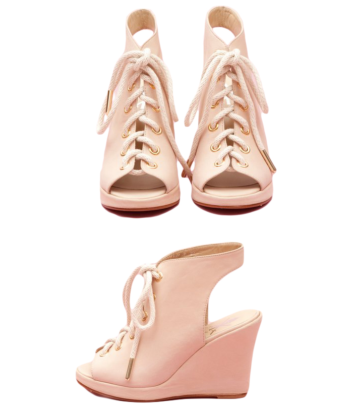 Opening Ceremony : W11 Lace-Up Rope Wedge