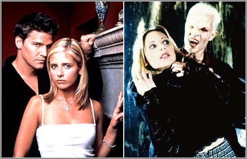 Buffy+Angel och Buffy+Spike