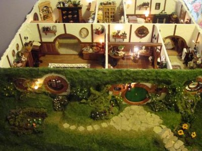 hobbit dollhouse doll house sagan om ringen dockhus lord of the rings