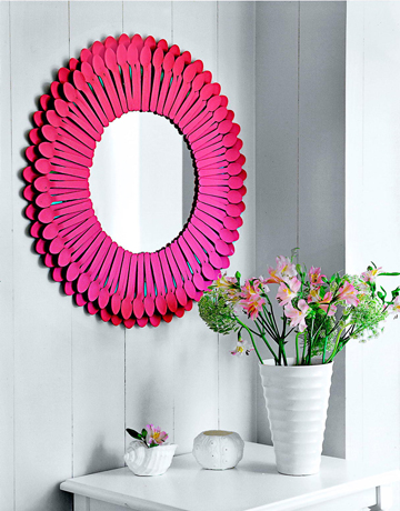 spoon mirror diy