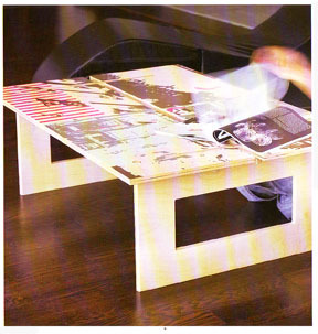silkscreen table