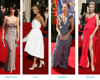 Who dressed the best - The Emmy Awards