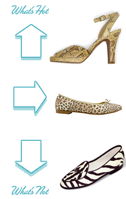 What´s hot and what´s not - Animalprints