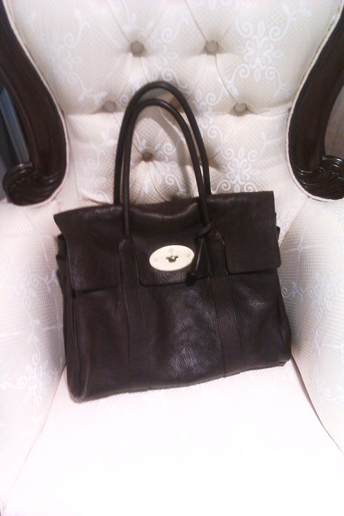 mulberry bayswater brun