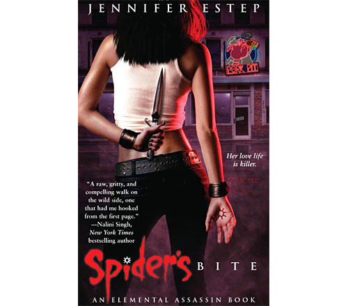 Jennifer Estep - Spider's Bite