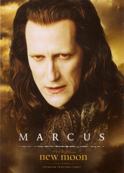 marcus new moon trading cards