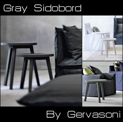 sidobord gray urbanliving