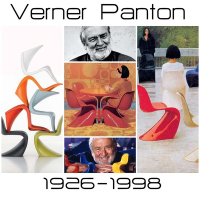 verner panton collage