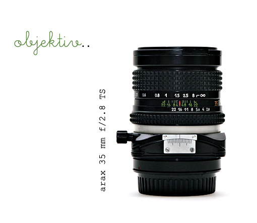 Arax 35 mm f/2.8 Tilt/Shift - foto: Eva Blixman