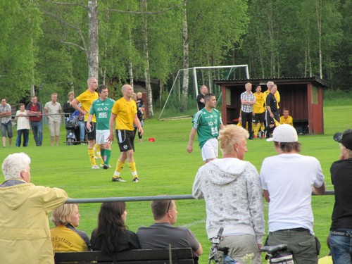 Grillparty/fotboll