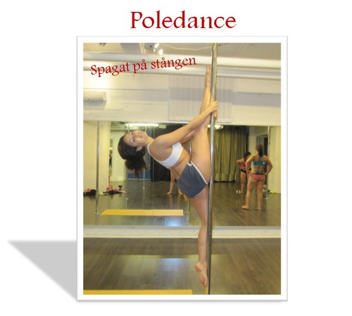 poledance front split