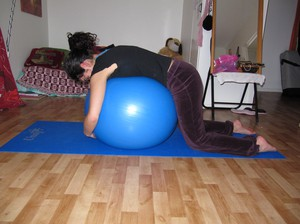 Balansboll stretch