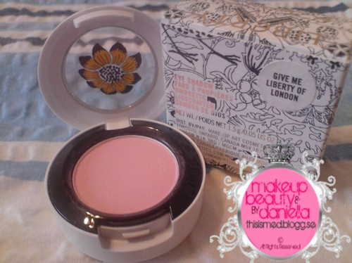 Give Me Liberty Of London eyeshadow,  Limited Edition